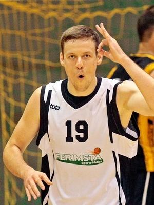 """Eduardas Rogačiovas prie """"Ferimstos"""" pergalės prisidėjo 31 tašku."""